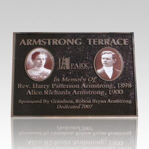 Bronze Plaques offer a touch of class for your memories