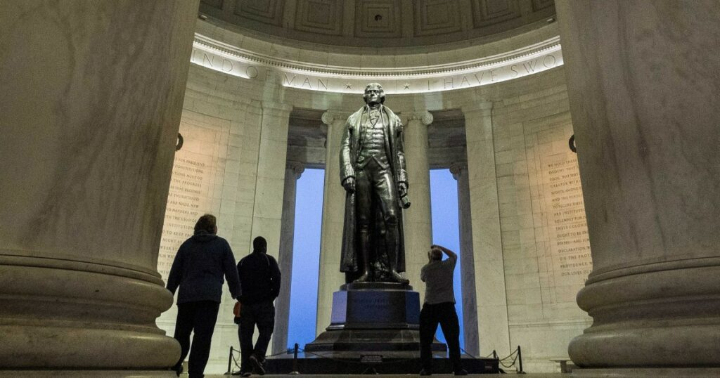 The Jefferson memorial offers families a great way to get to know the past