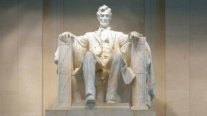 The Lincoln Memorial serves tribute to one of the most popular presidents in American history.
